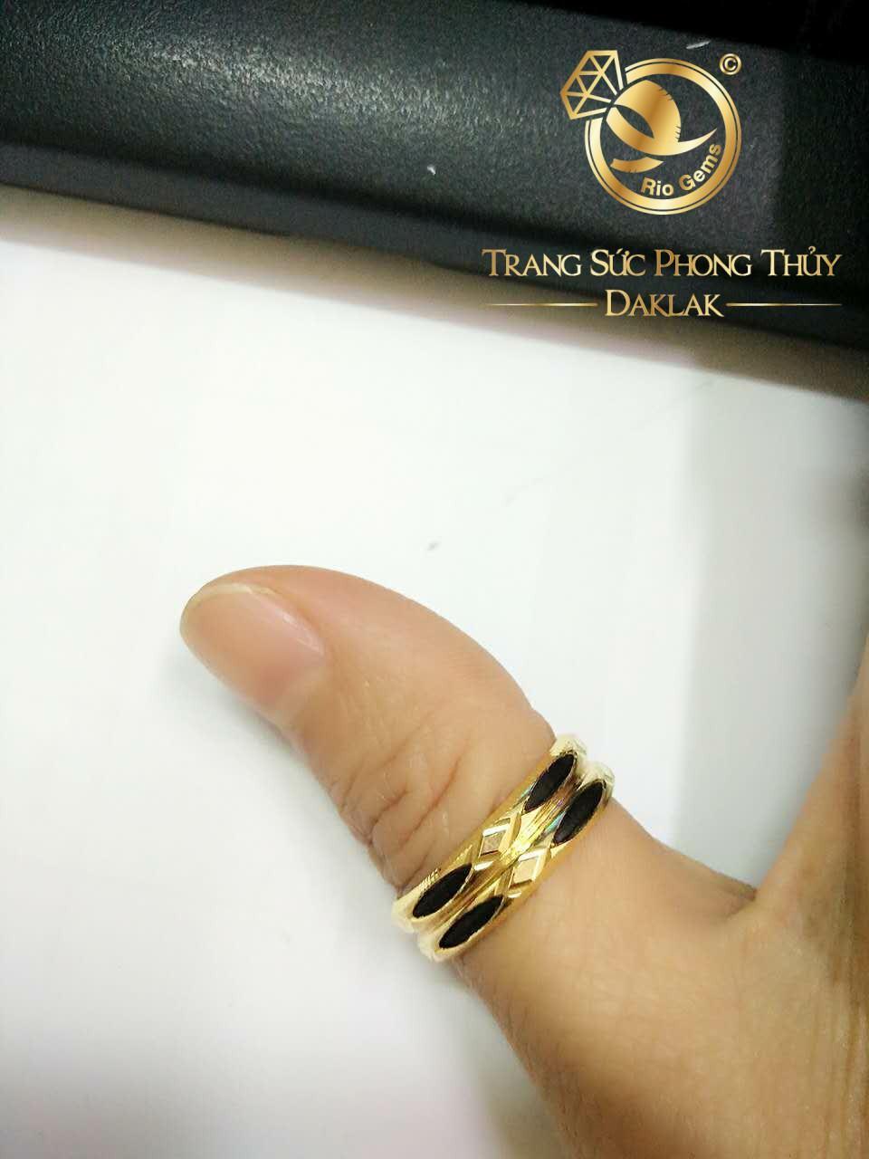 Nhẫn lông voi đeo ngón cái