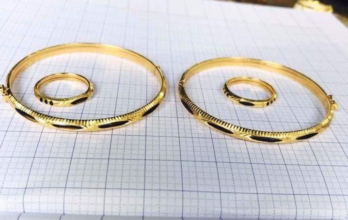 Nhẫn lông voi nam nữ18K – Nhẫn đơn lông RIOGEMs