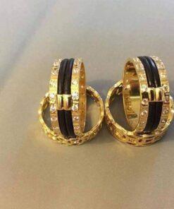 nhẫn lông voi vàng 10K