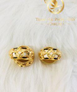 Cặp nhẫn phong thủy tuổi Chuột - Heo vàng