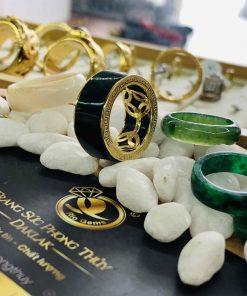 Nhẫn Ngọc Bích Jade
