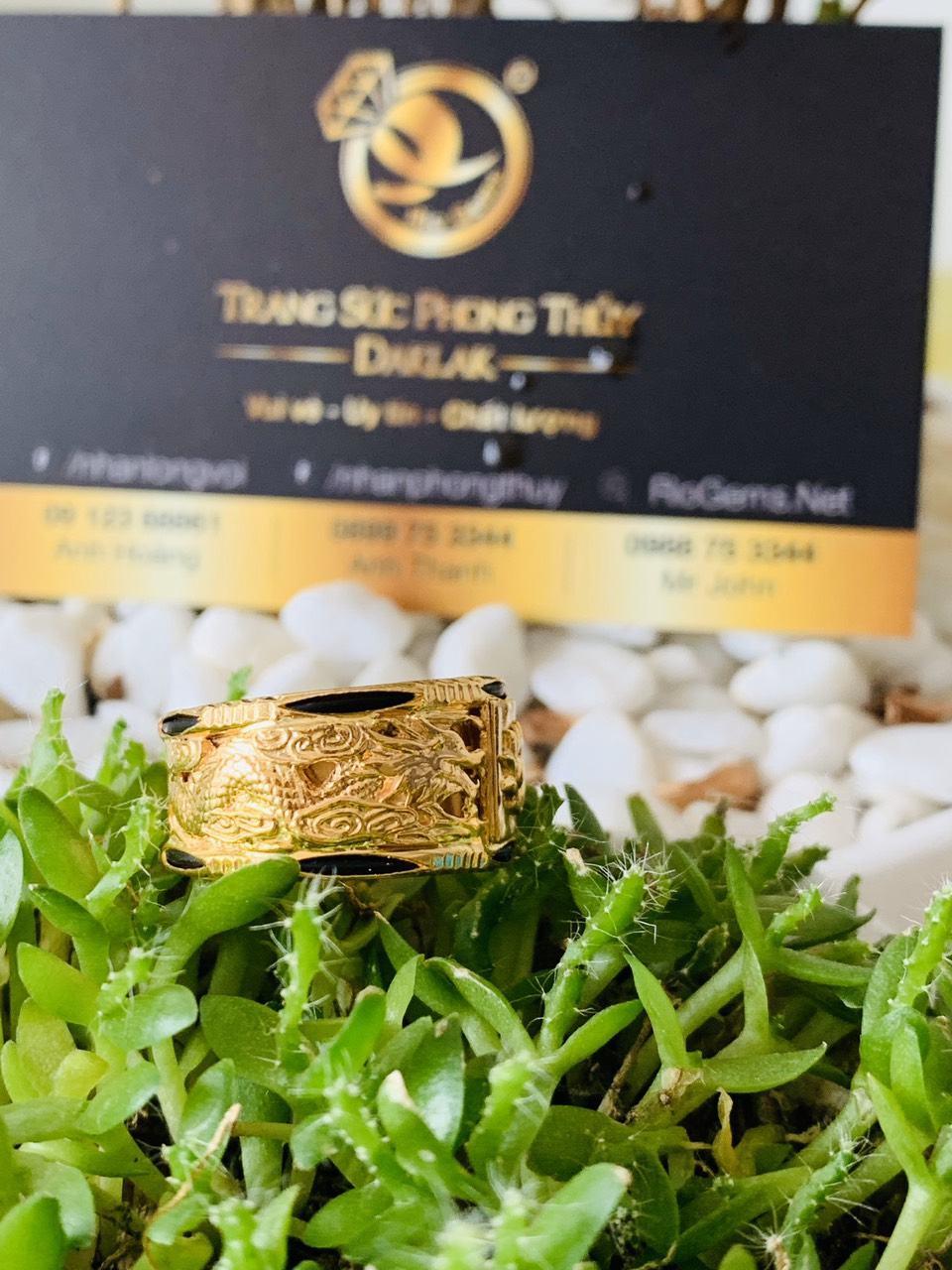 Nhẫn Rồng vàng 18K Riogems