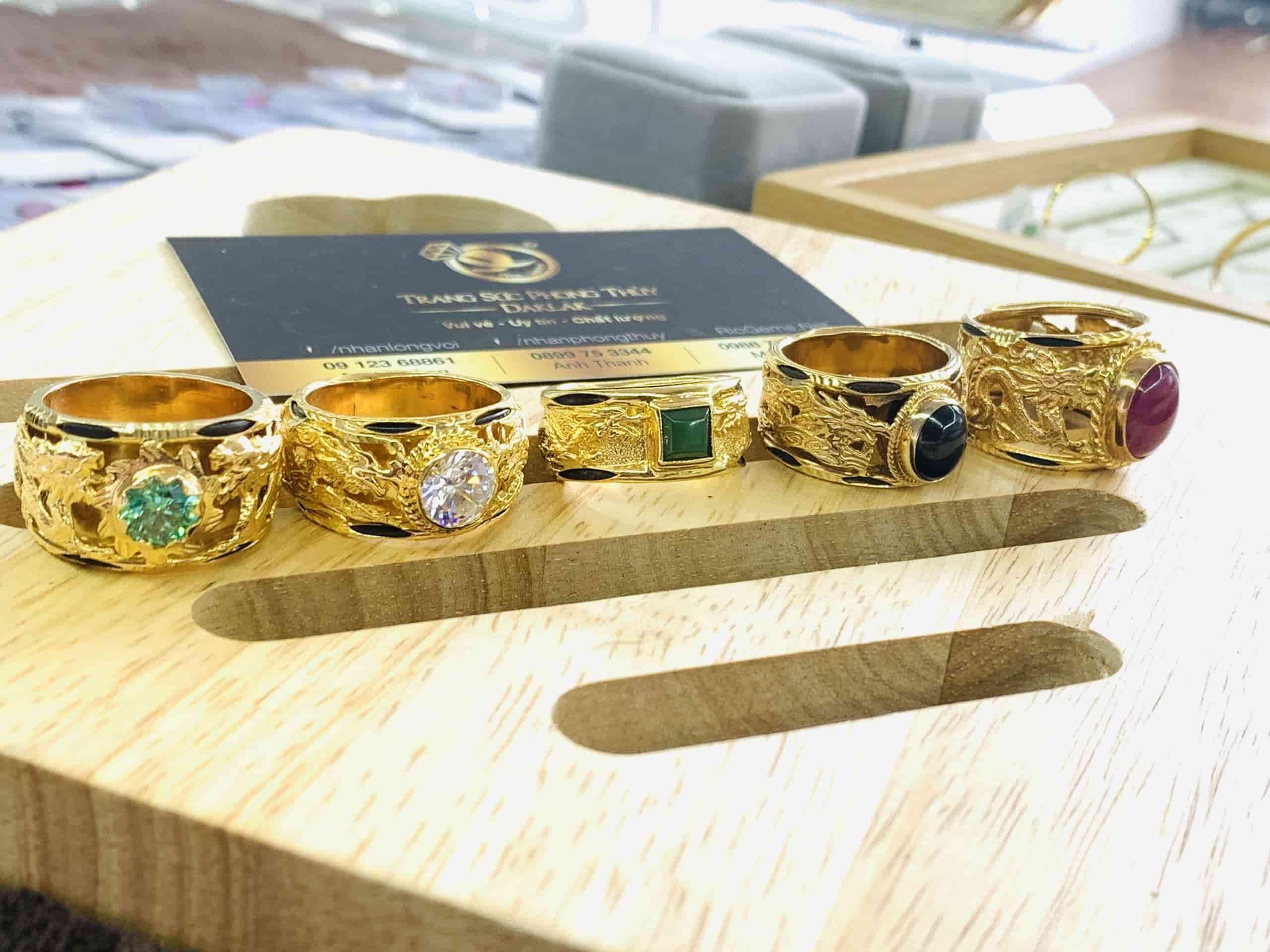 Nhẫn Rồng vàng 18K phong thủy