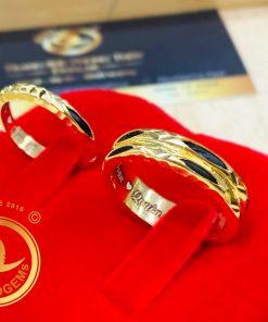 Nhẫn cưới đẹp vàng 18k