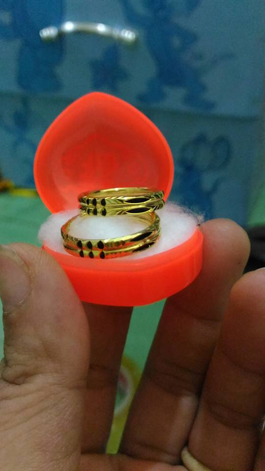 Nhẫn đôi vàng 18K Riogems