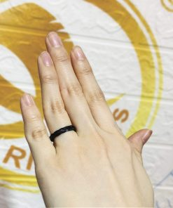 Nhẫn handmade 1 lNhẫn handmade 1 lông đan tay (lông FAKENhẫn handmade 1 lông đan tay (lông FAKENhẫn handmade 1 lông đan tay (lông FAKEông đan tay (lông FAKE