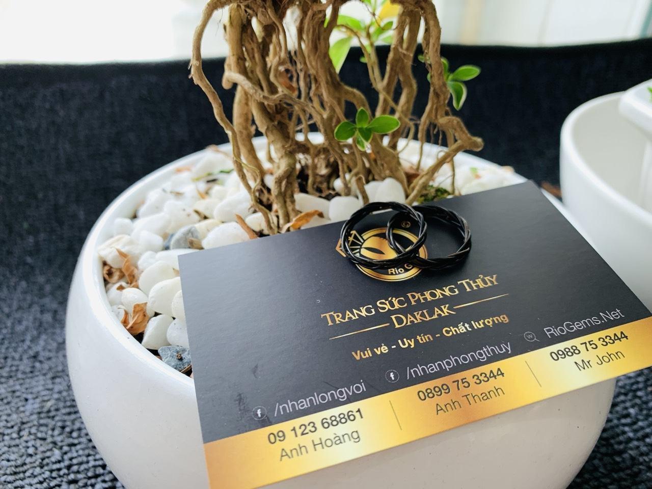 Nhẫn handmade đan tay (lông FAKE)