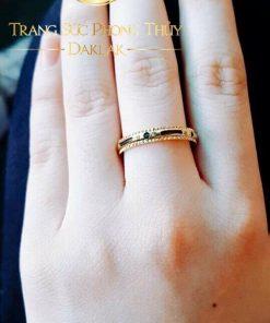 Nhẫn xoay vàng 18K cho nữ