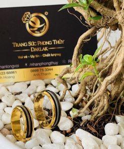 Cặp nhẫn cưới đơn giản vàng 18K - Món quà vĩnh cửu dành cho mọi cặp đôi