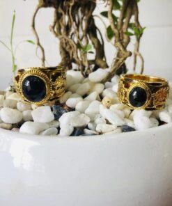 Cặp nhẫn Song Long Saphia Buôn Hồ