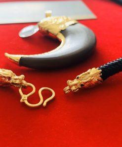 dây dù bọc vàng