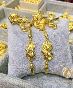 Mặt dây hạt vàng, tỳ hưu, cá chép, heo, đồng tiền hiện đại