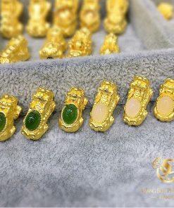 Mặt dây hạt vàng, tỳ hưu, cá chép, heo, đồng tiền đa dạng