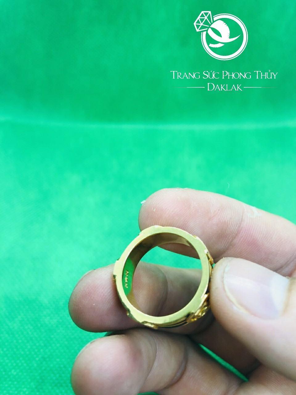 Nhẫn 3 lông voi nam đẹp