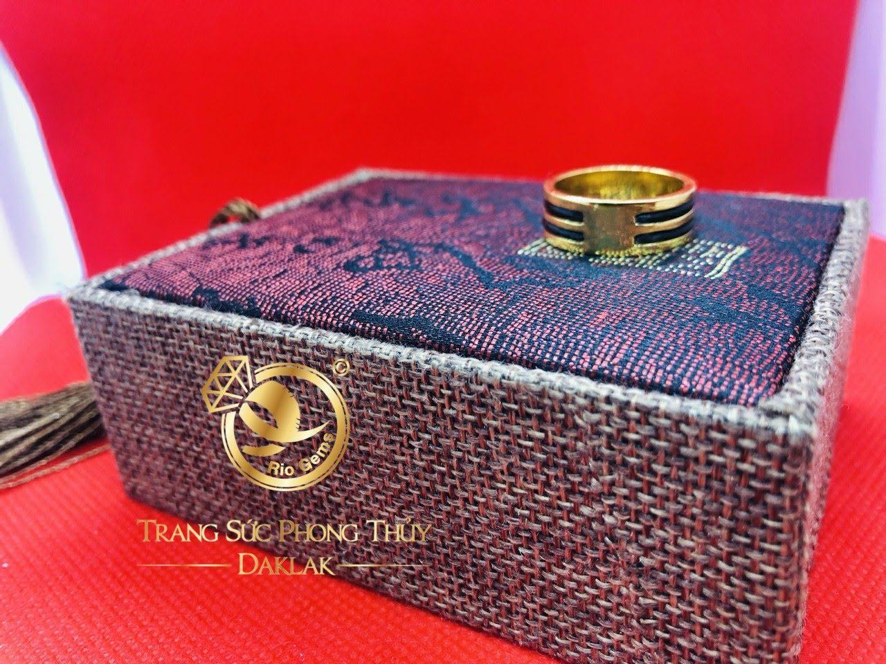Nhẫn lông voi 2 vòng làm tay hot