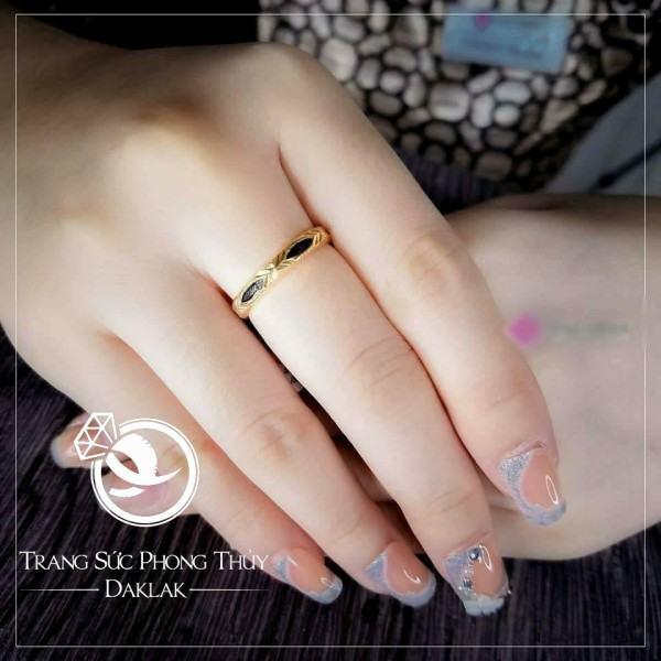 mẫu nhẫn lông voi nữ đẹp 1 lông đẹp