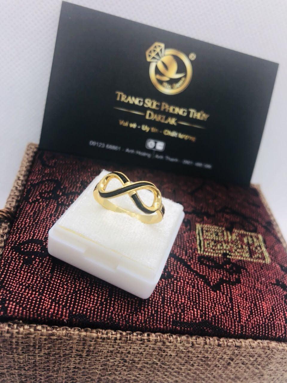 Nhẫn lông voi nữ đẹp logo RioGems giá rẻ
