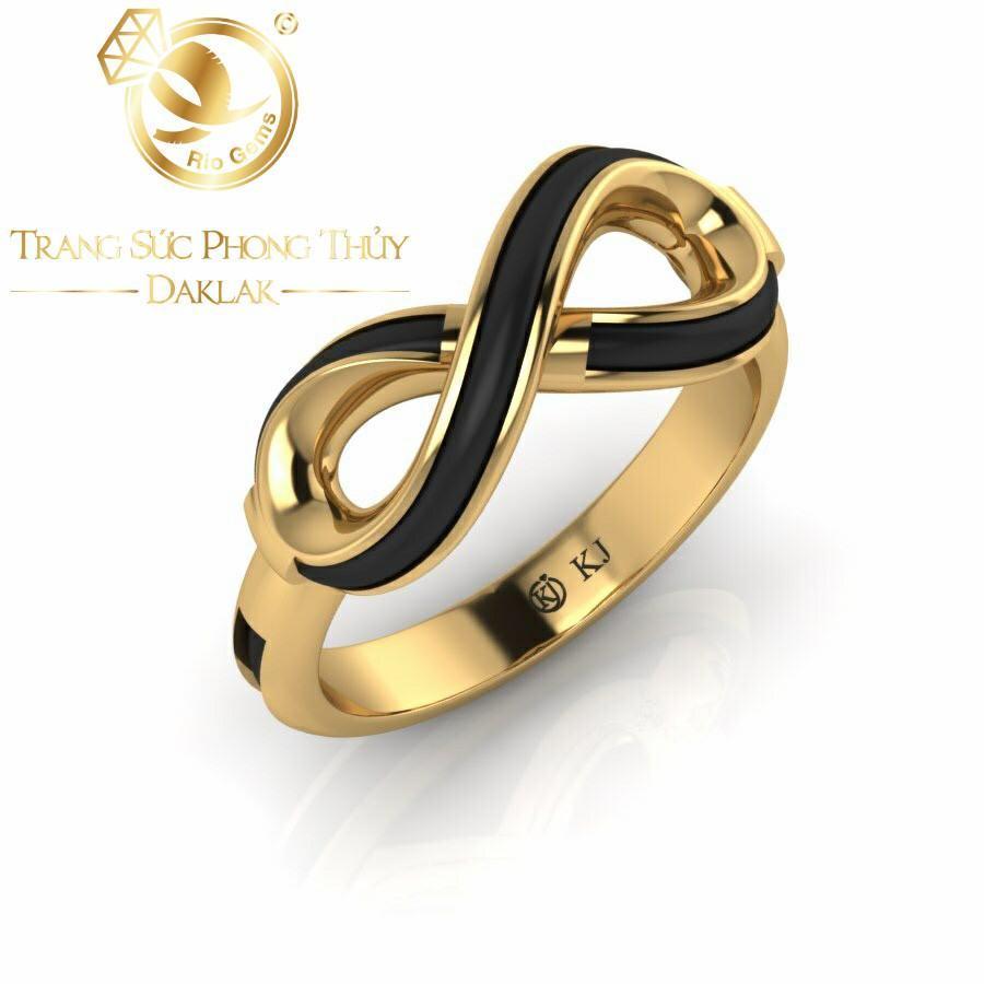 Nhẫn lông voi nữ đẹp logo RioGems hot