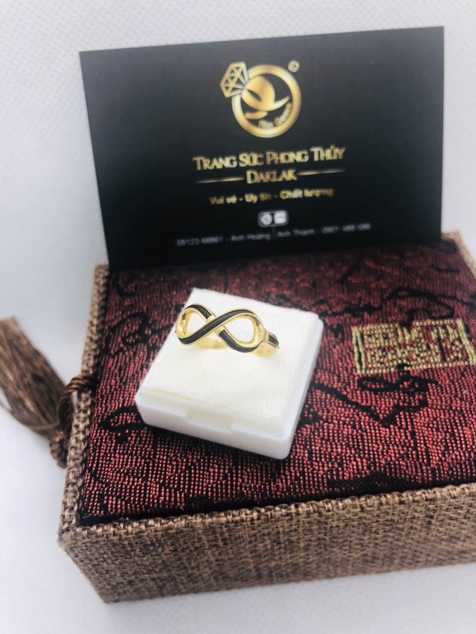 Nhẫn lông voi nữ đẹp logo RioGems uy tín