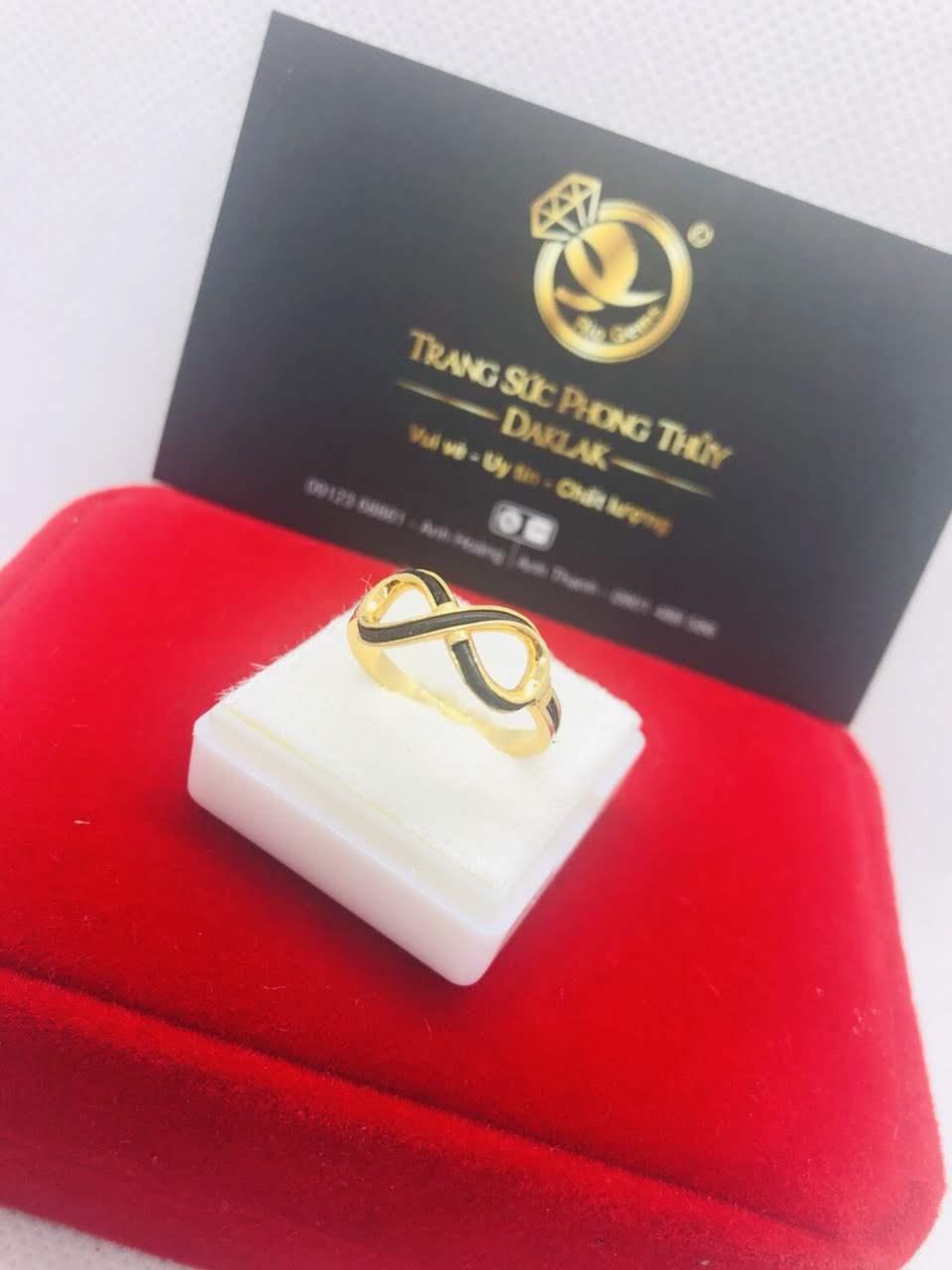 Nhẫn lông voi nữ đẹp logo RioGems yêu thích