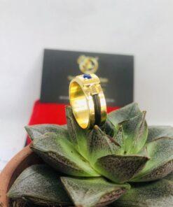 nhẫn lông voi phong thủy mệnh mộc RioGems