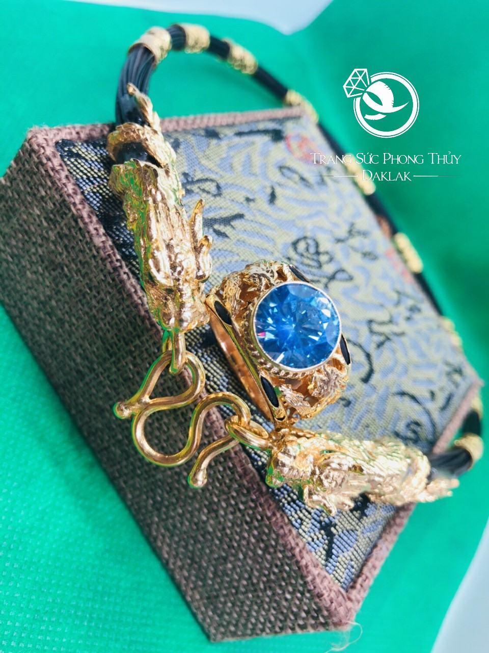 Nhẫn lông voi rồng đá xanh hcm