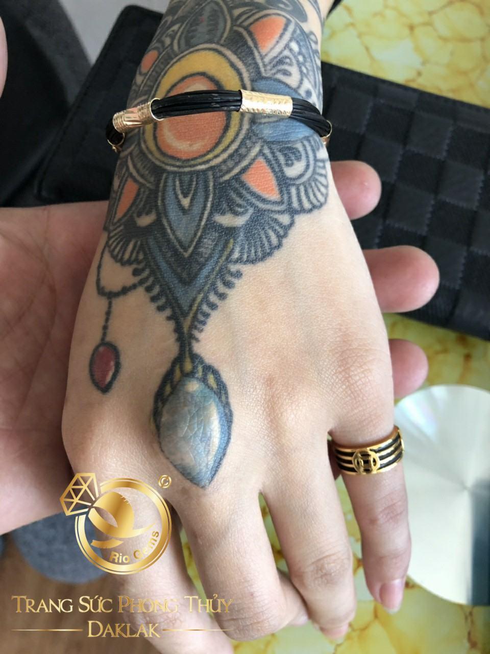 nhẫn lông voi ngà voi