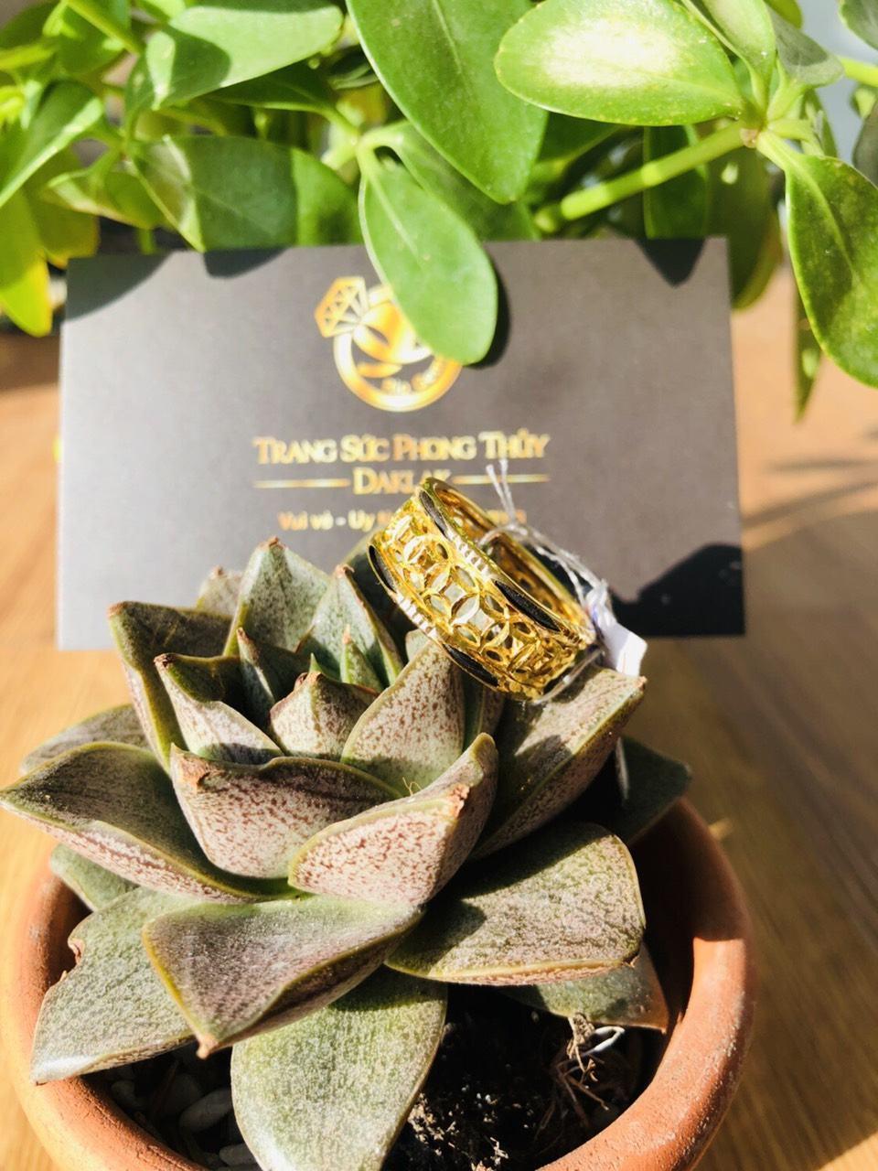 Nhẫn lông voi vàng đẹp kim tiền rẻ nhất