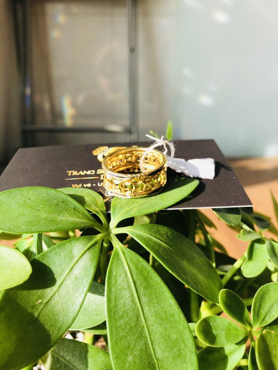 Nhẫn lông voi vàng đẹp kim tiền uy tín