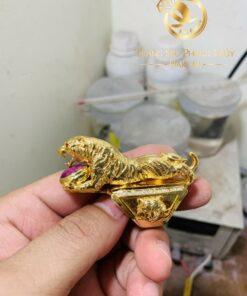 Nhẫn con hổ vàng