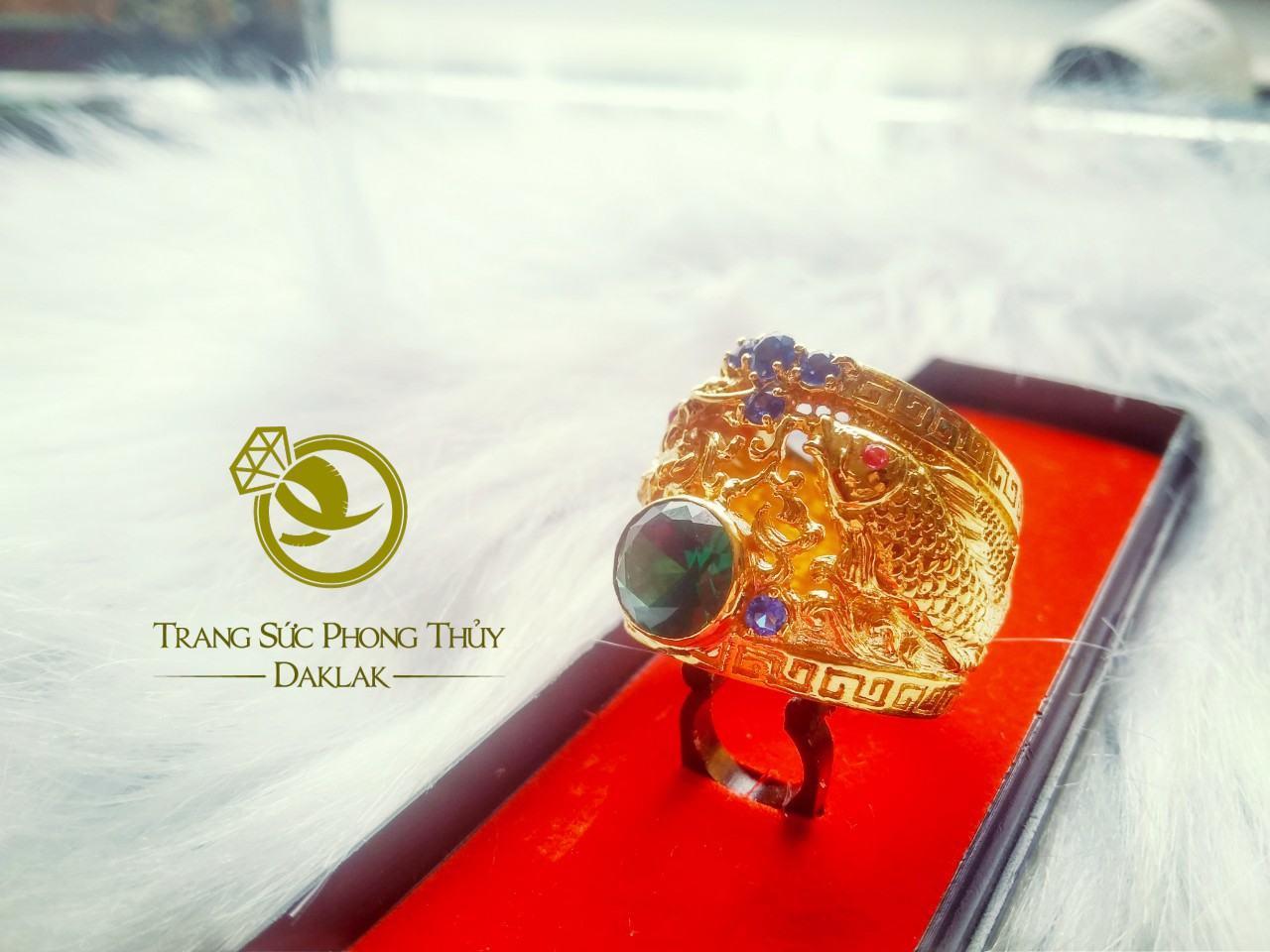 Nhẫn cá hóa rồng phong thủy đẹp