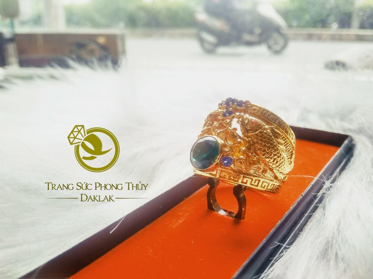 Nhẫn cá hóa rồng phong thủy