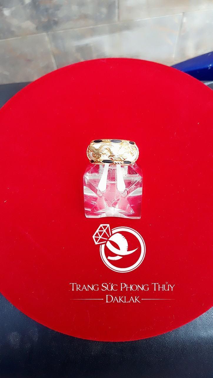 Nhẫn vàng phong thủy giá rẻ rồng ngang tphcm