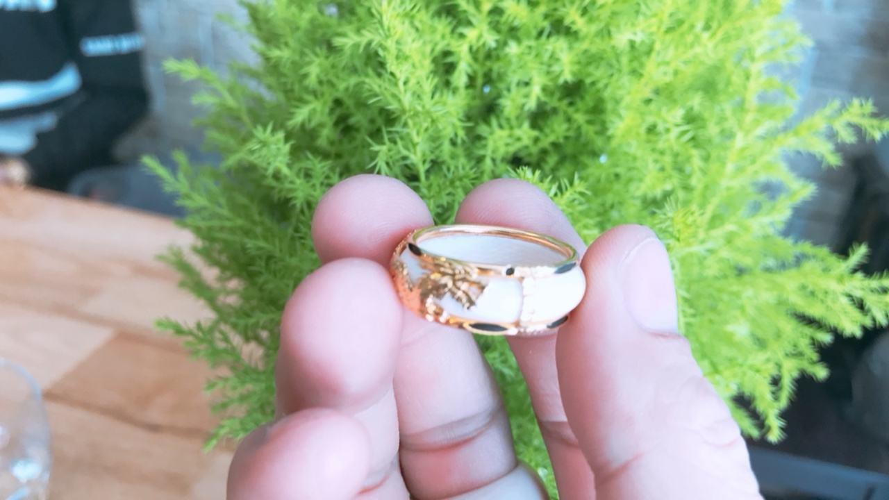 Nhẫn vàng phong thủy giá rẻ rồng ngang uy tín