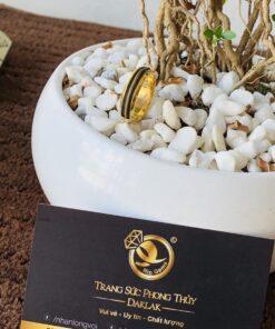 Nhẫn lông voi cho nam phong thủy 3 sợi Thái Lan