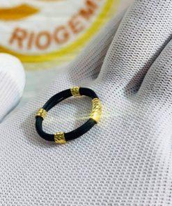 nhẫn 5 lông voi bó vàng 18K GIÁ RẺ phong thủy