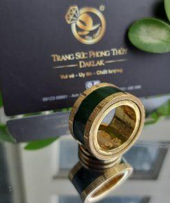 Nhẫn Càn Long Ngọc Bích hỗ trợ khắc tên