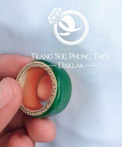 Nhẫn Càn Long Ngọc Bích mang lại may mắn và tài lộc