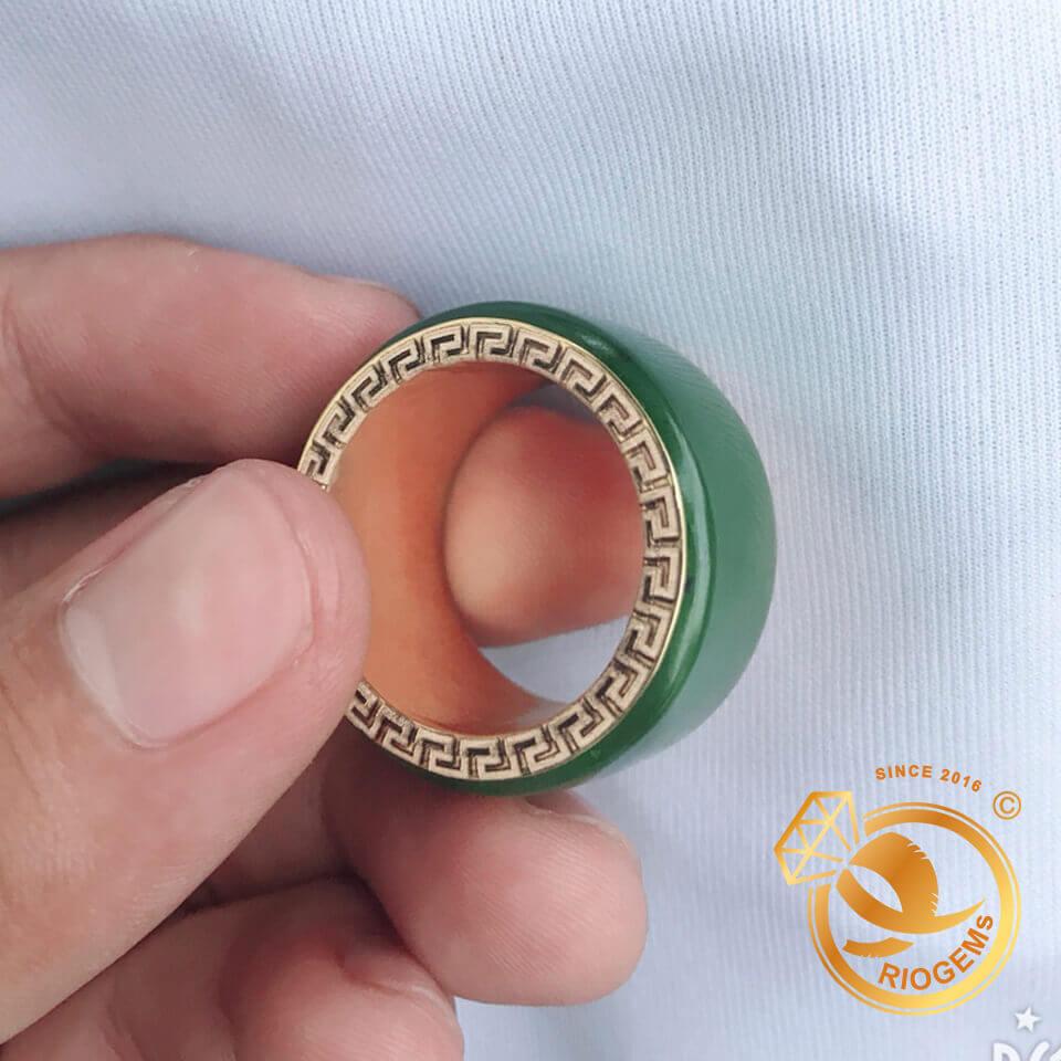 Nhẫn Càn Long Ngọc Bích lấy cảm hứng từ trang sức của vua Càng Long