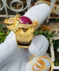 Nhẫn Long Quy Ruby vàng 10K DakLak đem đến những nguồn năng lượng tích cực