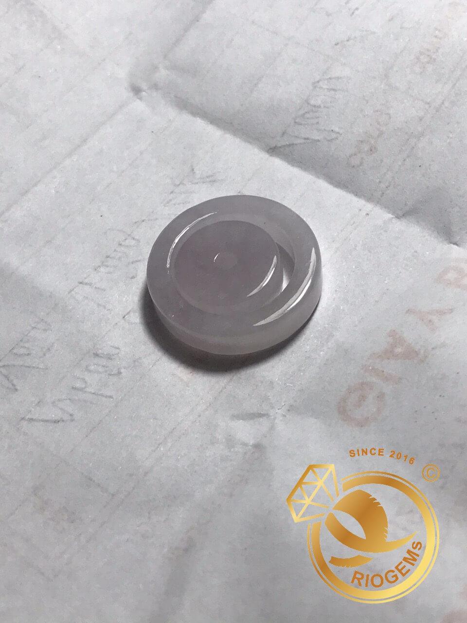 Nhẫn Ngọc Cẩm Thạch - Bảng vuông 5li phù hợp với mệnh thủy