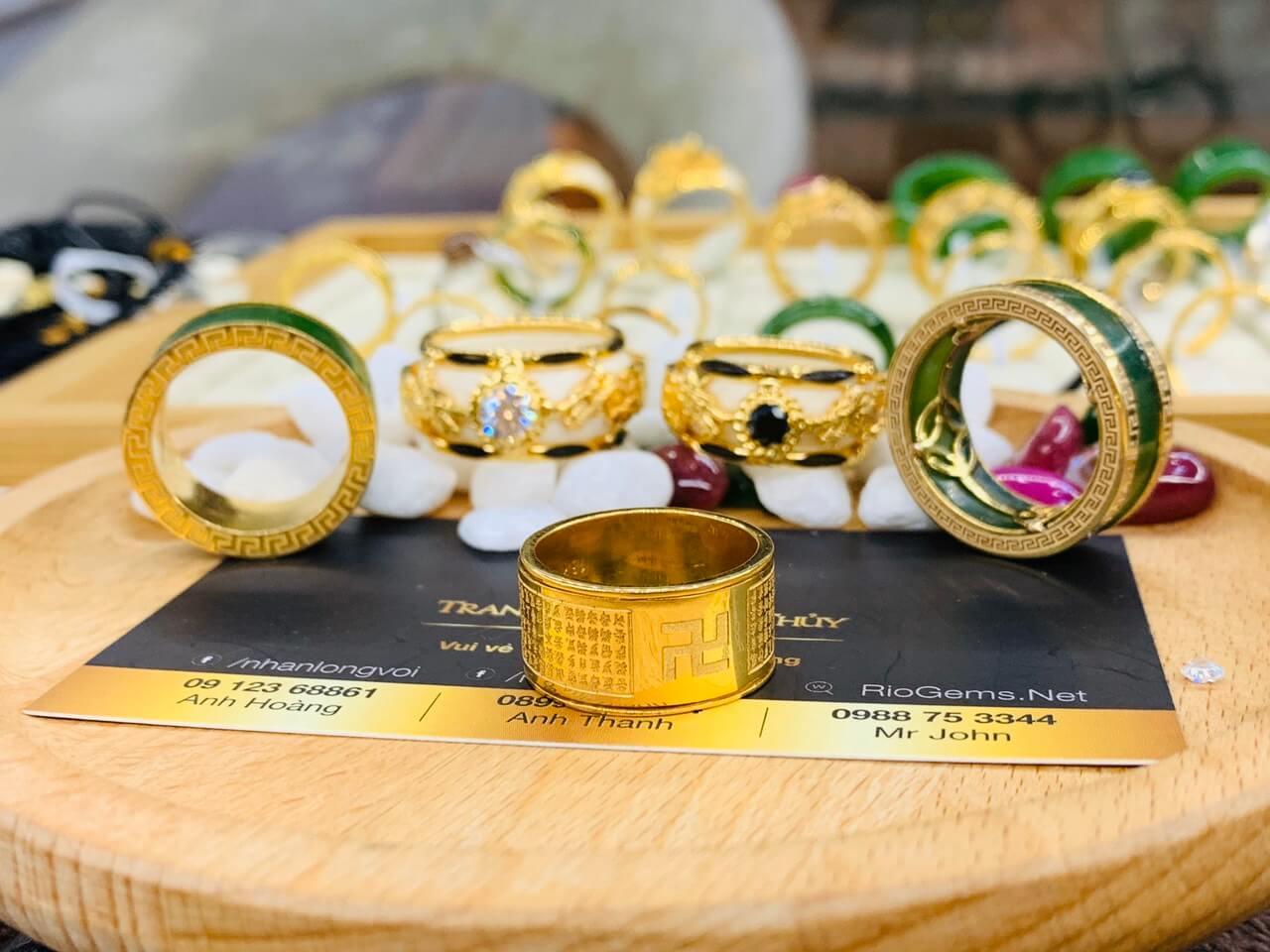 Nhan Bat Nha Tam Kinh Vang 75 Riogems