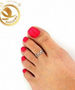 Nhẫn hở đeo ngón chân làm phong thủy