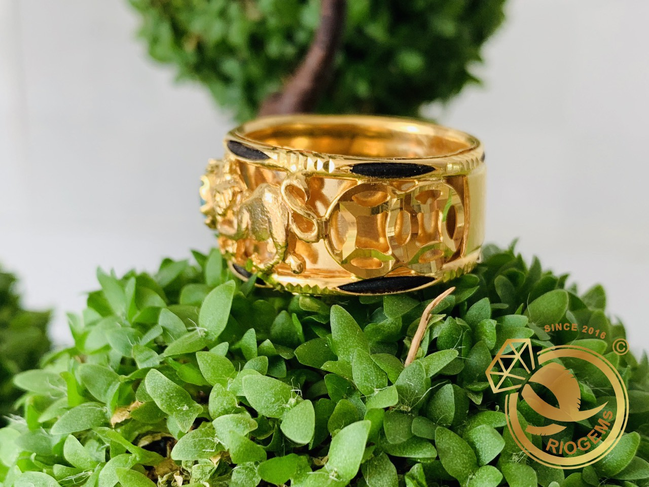 Nhẫn Mèo phong thủy