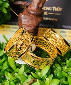 nhẫn Kim Tiền Múc Bén vàng đẹp