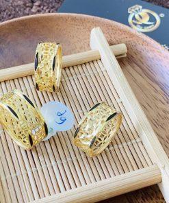 nhẫn Kim Tiền Múc Bén vàng phong thủy
