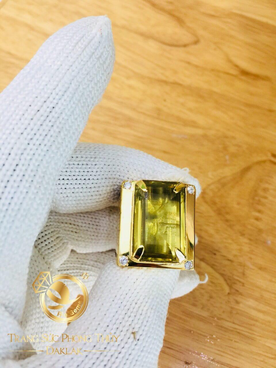 Nhẫn Nam vàng sang trọng và đẹp mắt