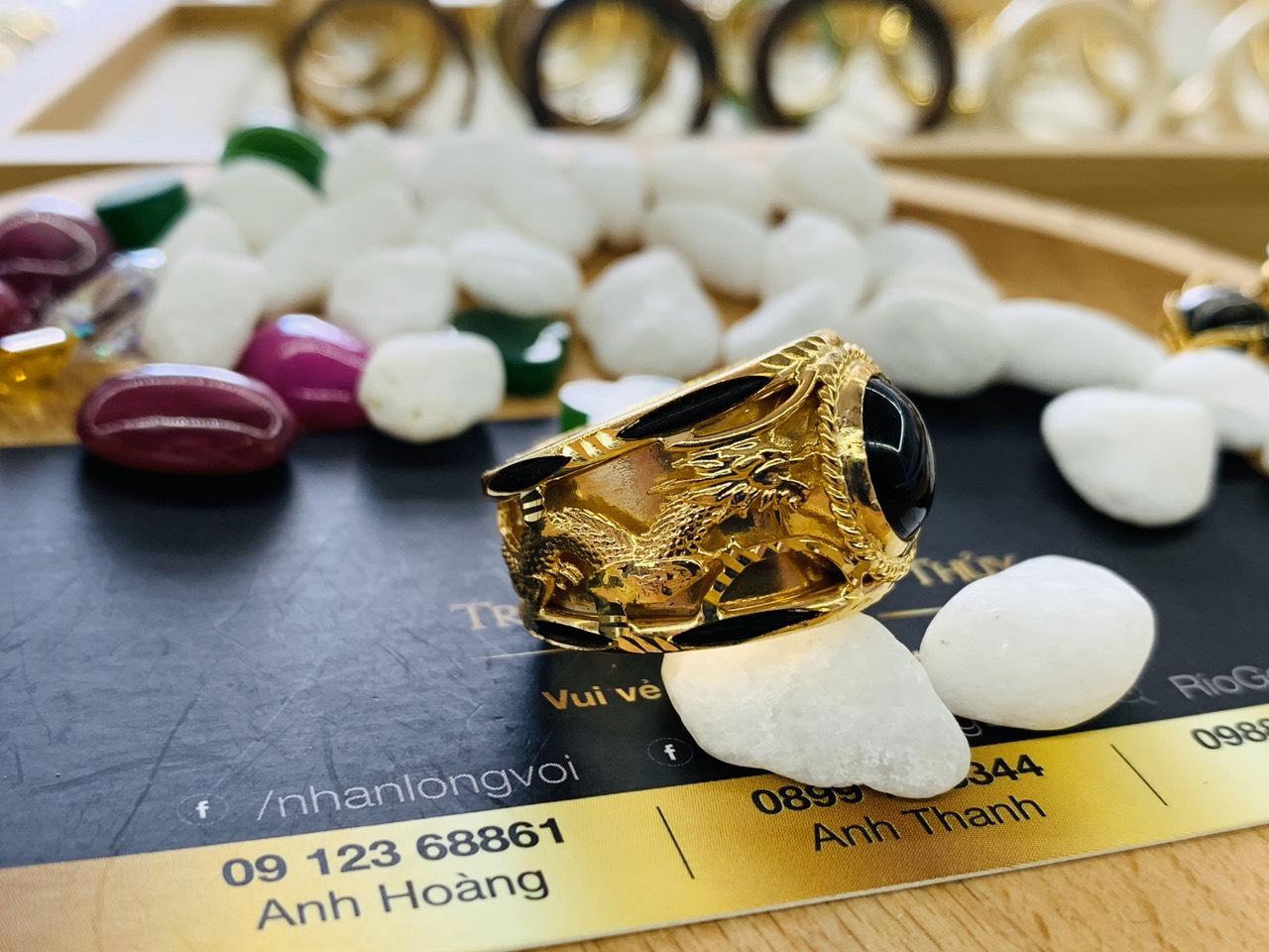 Nhẫn vàng Rồng Phụng đẹp mắt và sang trọng