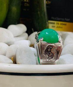Nhẫn vàng Trắng hình Rồng mạnh mẽ