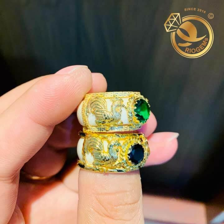 Nhẫn Bạch Ngọc tuổi Dậu